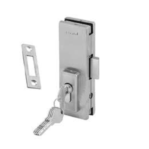 Bottom Patch Lock with Strike Plate