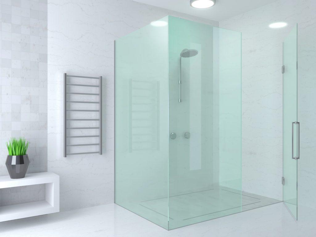 Shower partition