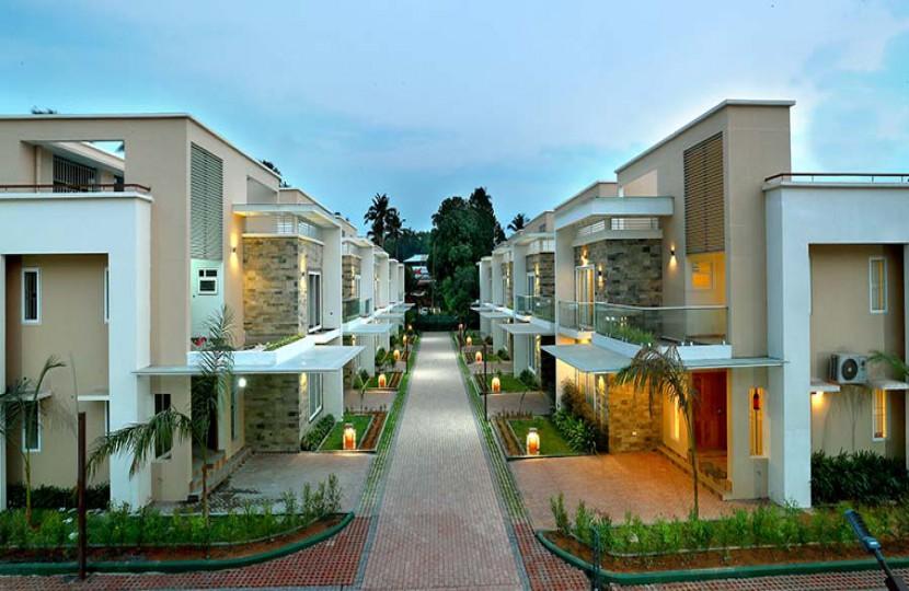 Abad Spring Field Apartment exterior design
