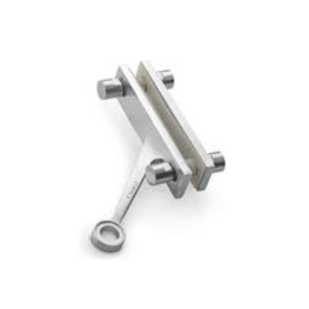 2 way spider fittings glass
