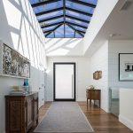 glass roof for sunlight